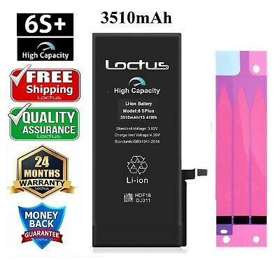 3410mAh High Capacity Replacement Battery for iPhone 6S Plus with Adhesive Tape