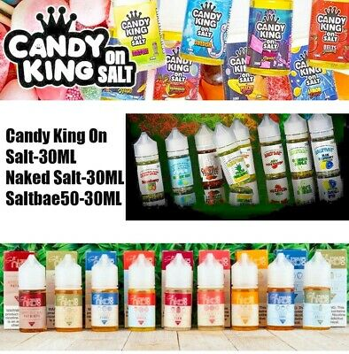 Candy1 King1 Salt  Salt Bae  NKD100 Salt 30ml All Salt Flavor