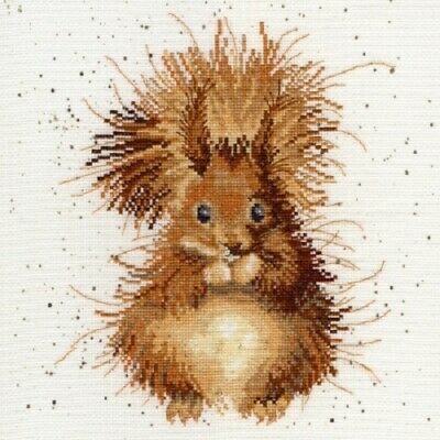 Bothy Threads - The Nutcracker Squirrelby Hannah Dale Counted Cross-stitch Kit