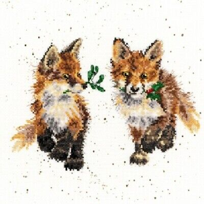Bothy Threads - Glad Tidings Holiday Fox by Hannah Dale Counted X-stitch Kit