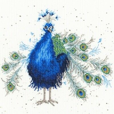 Bothy Threads- Practically Perfect Peacock by Hannah Dale Counted X-stitch Kit