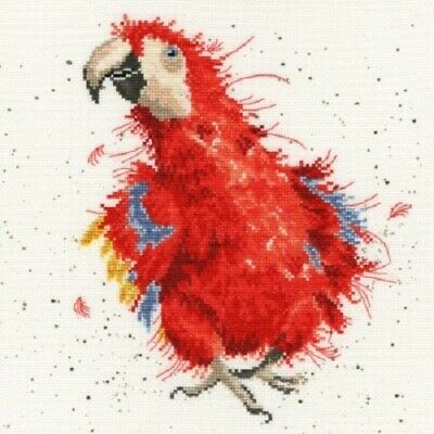 Bothy Threads - Parrot On Parade by Hannah Dale Counted Cross-stitch Kit