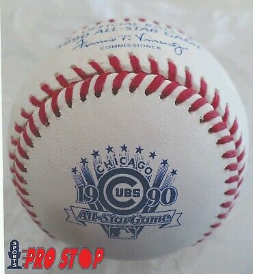 Official 1990 Rawlings ALL STAR Game Baseball  CHICAGO CUBS