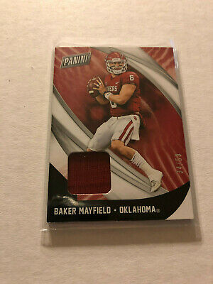 2018 Panini Black Friday Baker Mayfield Jersey Relic RC SSP 4050 Sooners