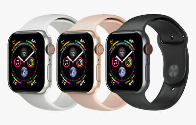 Apple Watch Series 4 40mm 4G CellularLTE Space Gray  Silver  Gold Rose Gold