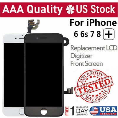 For iPhone 6S 6 7 8 Plus LCD Digitizer Touch Screen Replacement Button - Camera