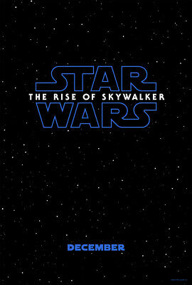 Star Wars The Rise of Skywalker Original DS Movie Poster One Sheet PREORDER