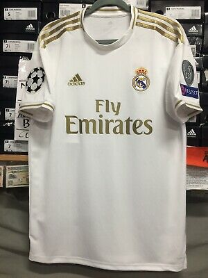 Adidas Real Madrid Home Jersey 1920 Stadium Cut Champions League Edition Size M