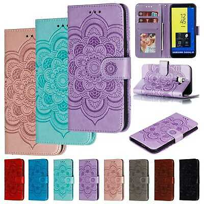 For Samsung Galaxy J4J6 2018J2 Pro Wallet Phone Case Flip Leather Flower Cover