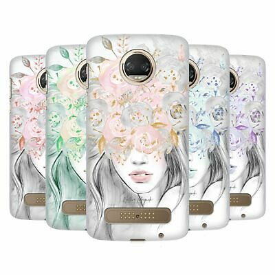 OFFICIAL NATURE MAGICK GIRL WITH FLOWERS IN HER HAIR CASE FOR MOTOROLA PHONES 1