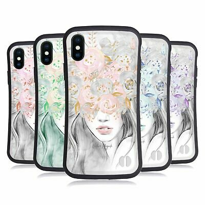 NATURE MAGICK GIRL WITH FLOWERS IN HER HAIR HYBRID CASE FOR APPLE IPHONES PHONES