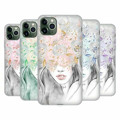 NATURE MAGICK GIRL WITH FLOWERS IN HER HAIR GEL CASE FOR APPLE IPHONE PHONES