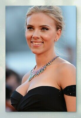 Scarlett Johansson Glossy Celebrity Photo 4x6 • N2