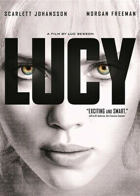 LUCY New Sealed DVD Scarlett Johansson Morgan Freeman