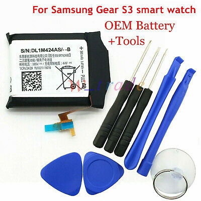For Samsung Gear S3 Frontier  Classic SM-R760 R770 Genuine Battery EB-BR760ABE