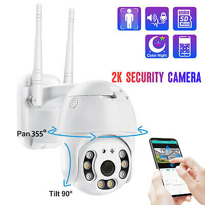 Wireless Security Camera WIFI 1080P HD Smart APP Night Vision 2-Way Audio Home