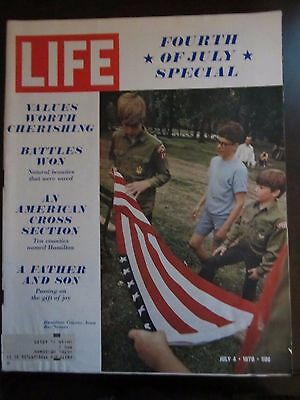 Life Magazine Fourth of July Special July 1970