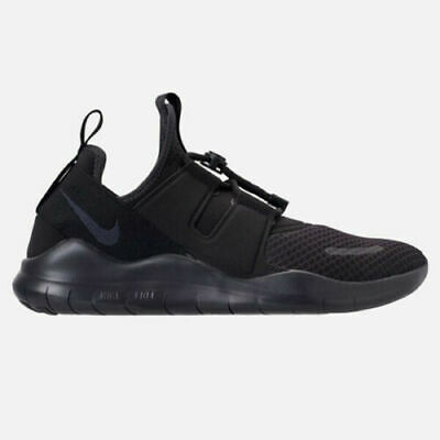 Nike Free RN Commuter 2018 Mens Running Shoes AA1620 002 Black Oil Grey NEW