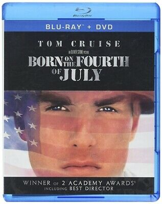 BORN ON THE FOURTH OF JULY New Sealed Blu-ray - DVD Tom Cruise