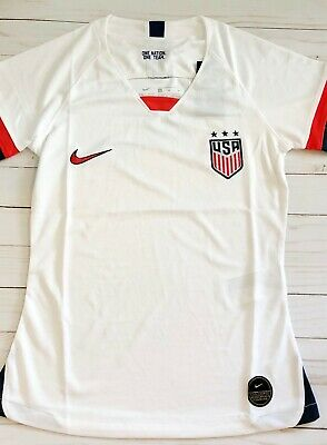Brand New 2019 US Womens FIFA World Cup Jersey Medium Slim Fit USWNT Soccer
