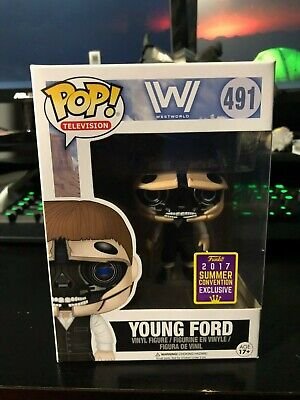2017 Summer Convention Exclusive Funko POP Westworld Robotic Young Ford IN HAND