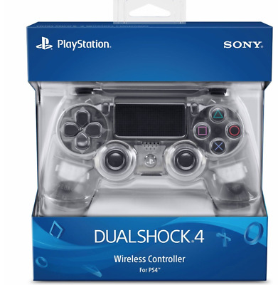 PLAYSTATION 4 PS4 DUALSHOCK 4 WIRELESS CONTROLLER CRYSTAL BRAND NEW