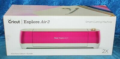 Cricut Explore Air 2 Wild Rose Edition  Smart Cutting Machine Up to 2X faster