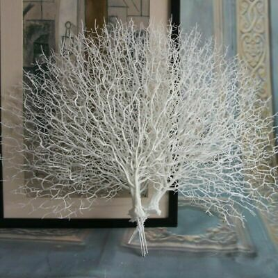 Artificial Tree Branch Peacock Coral Branch Plant Xmas Home Decor Photography US