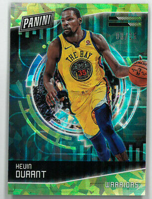 Kevin Durant Warriors 2018 Panini Cyber Monday Refractor Card 1- LTD 325