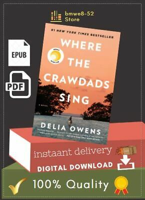Where the Crawdads Sing By Delia Owens ≋P≋D≋F≋🔥📩