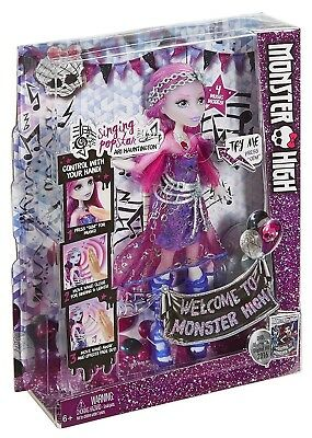 Monster High Singing Popstar Ari Hauntington Doll New batteries included