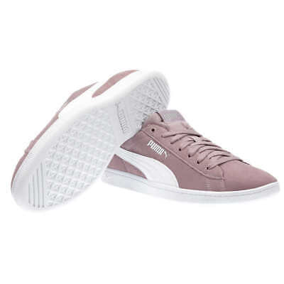 PUMA Ladies Vikky Suede Shoe Walking Running ColorsElderberry - Gray NEW