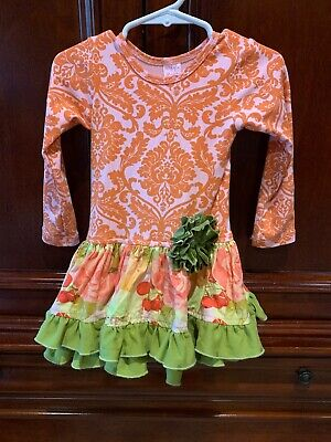 Giggle Moon Thanksgiving Outfit Size 2t