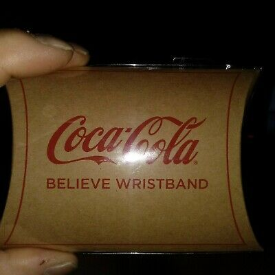 USWNT 2019 SheBelieves Red Net Wristband - Coca-Cola Limited Edition - World Cup