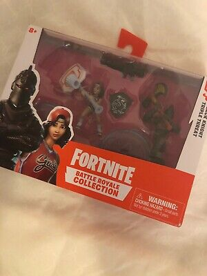 Fortnite Battle Royale Collection Duo Pack BLACK KNIGHT - TRIPLE THREAT Figures