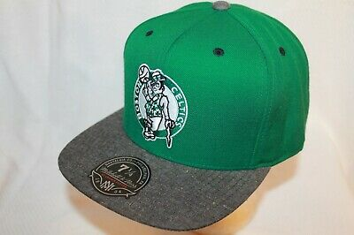 Boston Celtics Hat Cap Donegal Visor Fitted Cap Mitchell - Ness NBA