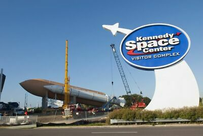 Kennedy Space Center Orlando E-ticket quick email delivery Rocket Launching NASA