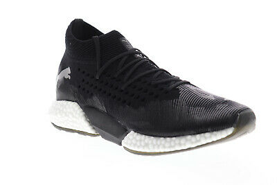 Puma Future Rocket 10551302 Mens Black Canvas Mid Top Athletic Gym Running Shoes