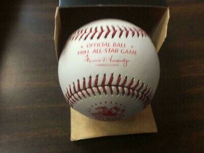 1991 All Star Game Rawlings Official MLB Game Baseball Toronto Blue Jays - Boxed