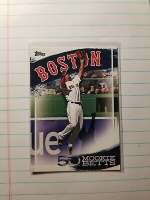 2019 Topps Mookie Betts Highlights BOSTON RED SOX  MB-5