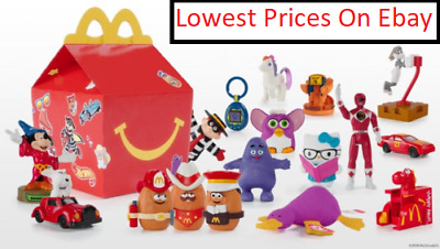 BEST PRICES   2019 McDONALDS 40th ANNIVERSARY RETRO HAPPY MEAL TOYS