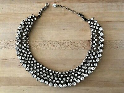Zara BibCollar Rhinestone Necklace ASO Kate Middleton