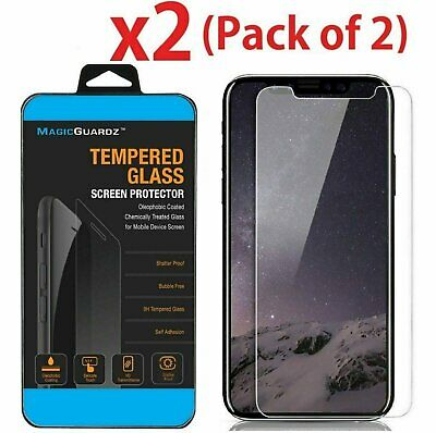 2-Pack iPhone 11 11 Pro 11 Pro Max Screen Protector Tempered Glass Protector