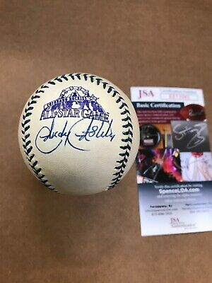 Andy Ashby Signed 1998 All Star Game Baseball JSA Authentication