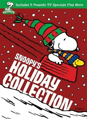 SNOOPYS HOLIDAY COLLECTION New Sealed 3 DVD Set Peanuts Charlie Brown