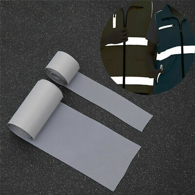 3 M Reflective Tape Sew on Fabric DIY Safety Clothing Bags Craft Supplies DIY US