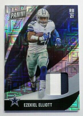 2018 Panini Black Friday Ezekiel Elliott  3Color  Patch 2125 11 Cowboys