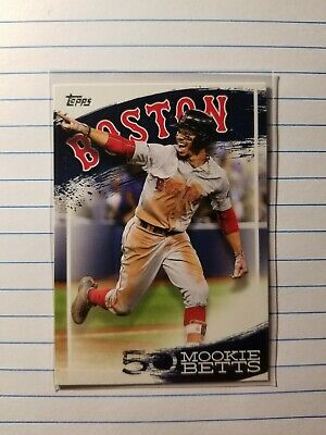 2019 Topps Mookie Betts Highlights BOSTON RED SOX  MB-17