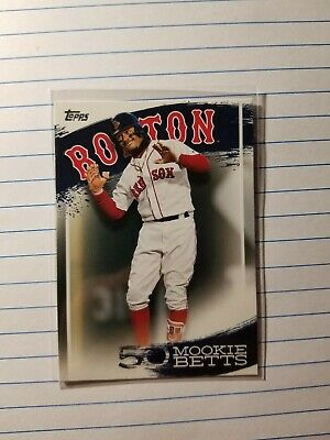 2019 Topps Mookie Betts Highlights BOSTON RED SOX  MB-11