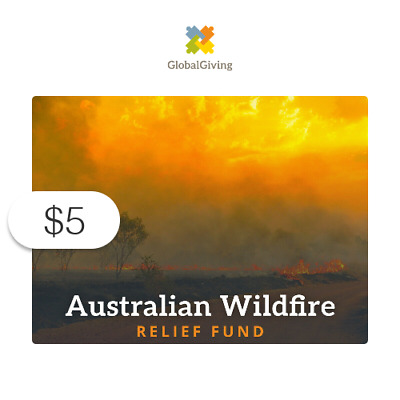 5 Charitable Donation For Australian Wildfire Relief Fund